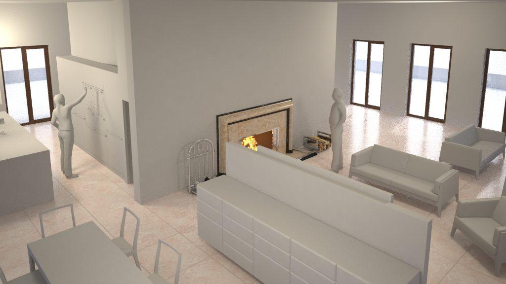 151013 Wohnraum und Küche 01 CAS_15